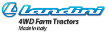 Landini 4WD Farm Tractors, Made in Italy
